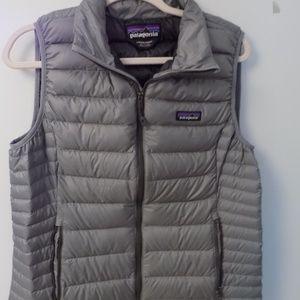 Gray Patagonia Nano Puff Vest - Large